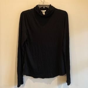 H&M thin black turtleneck NWT